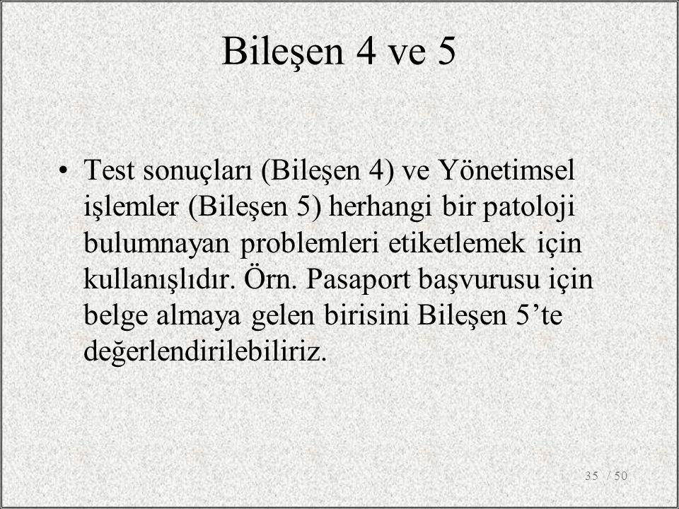 Bileşen 4 ve 5