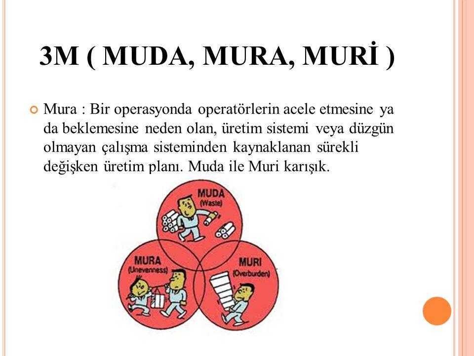 3M ( MUDA, MURA, MURİ )