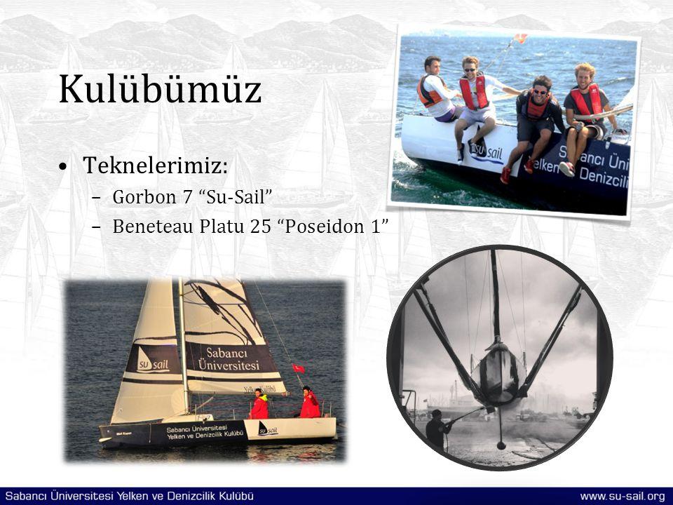 Kulübümüz Teknelerimiz: Gorbon 7 Su-Sail