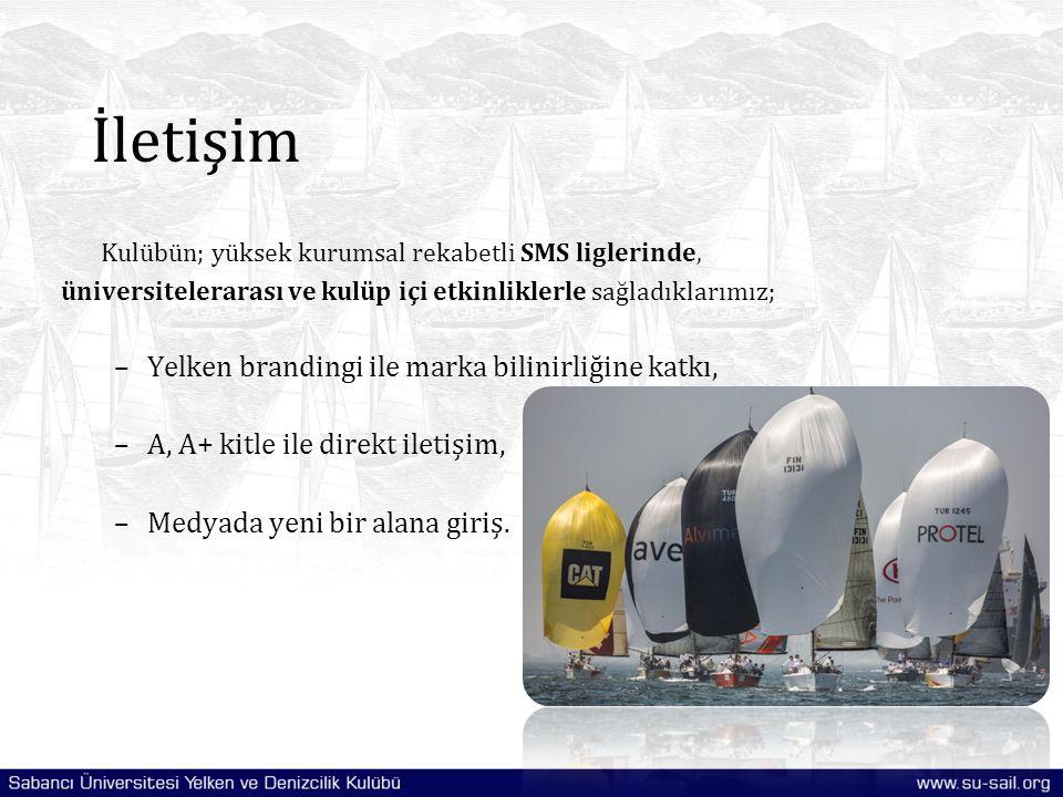 İletişim Yelken brandingi ile marka bilinirliğine katkı,