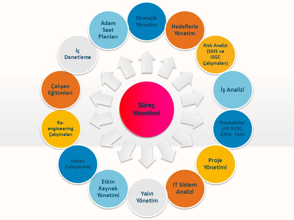 Süreç Yönetimi İş Analizi Proje Yönetimi IT Sistem Analizi