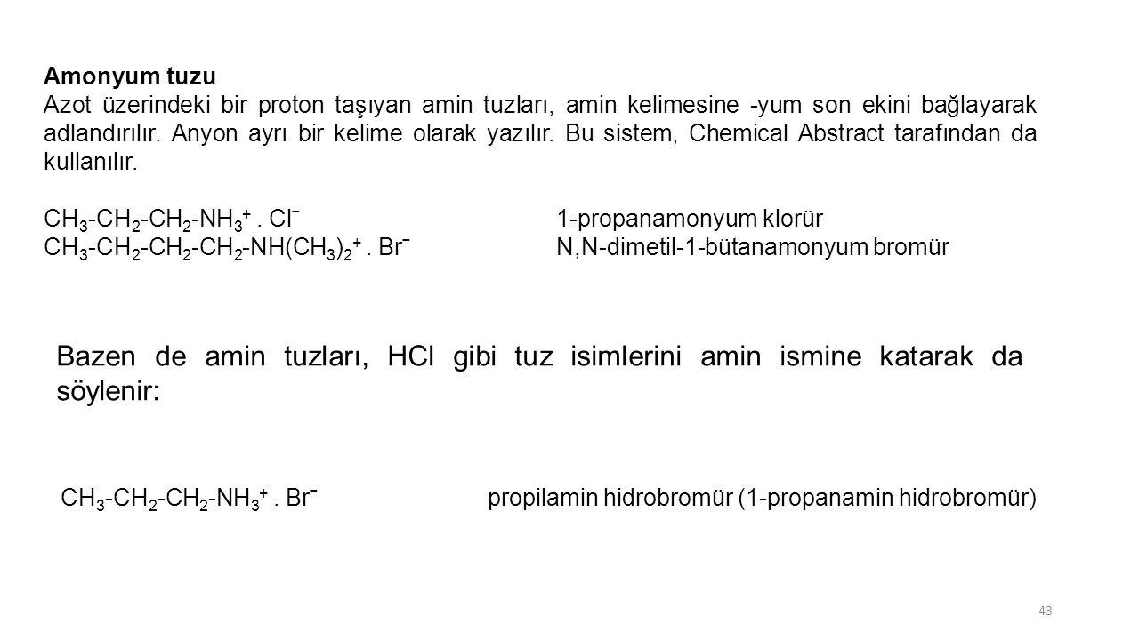 Amonyum tuzu