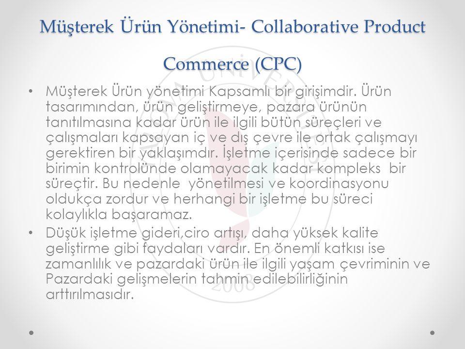 Müşterek Ürün Yönetimi- Collaborative Product Commerce (CPC)