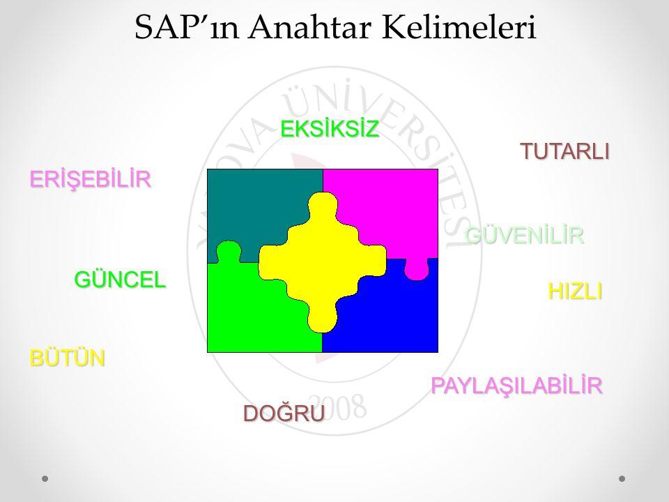SAP'ın Anahtar Kelimeleri