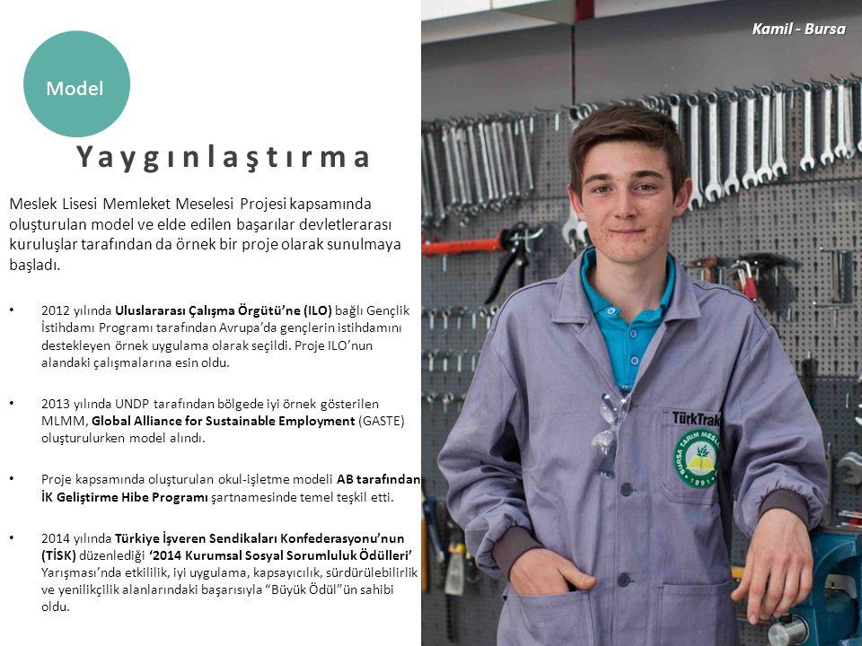 Yaygınlaştırma Model Kamil - Bursa