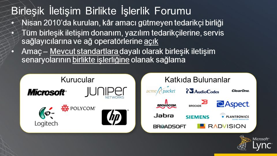 Birleşik İletişim Birlikte İşlerlik Forumu