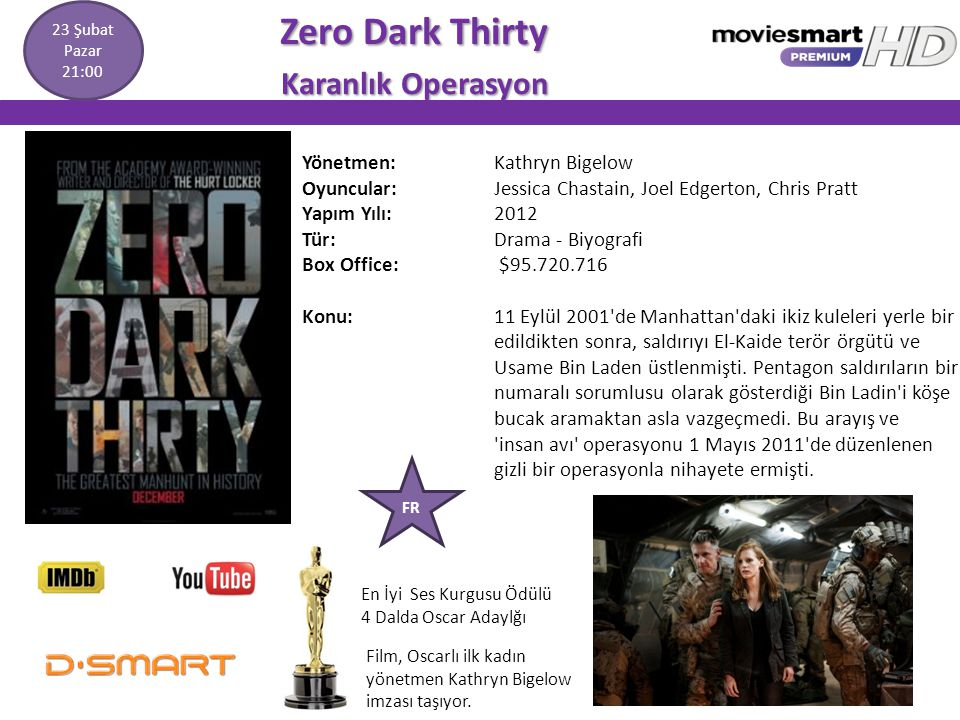 Zero Dark Thirty Karanlık Operasyon