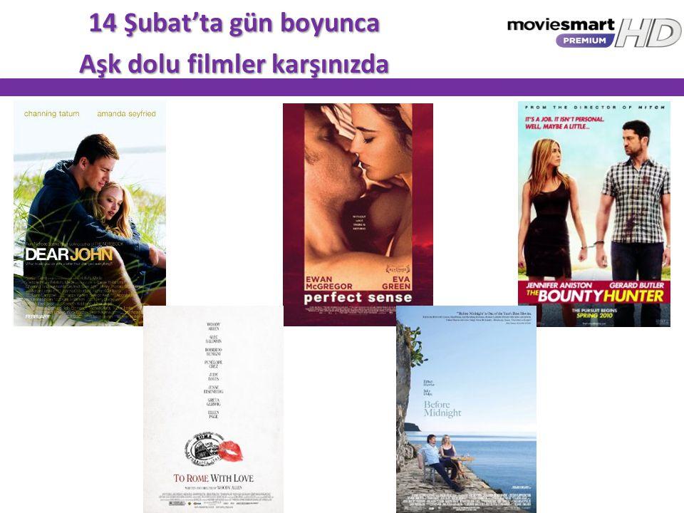 14 Şubat'ta gün boyunca Aşk dolu filmler karşınızda