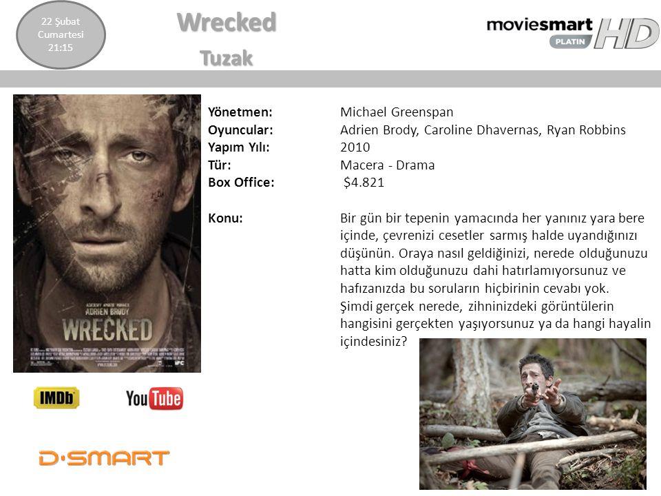 Wrecked Tuzak Yönetmen: Michael Greenspan