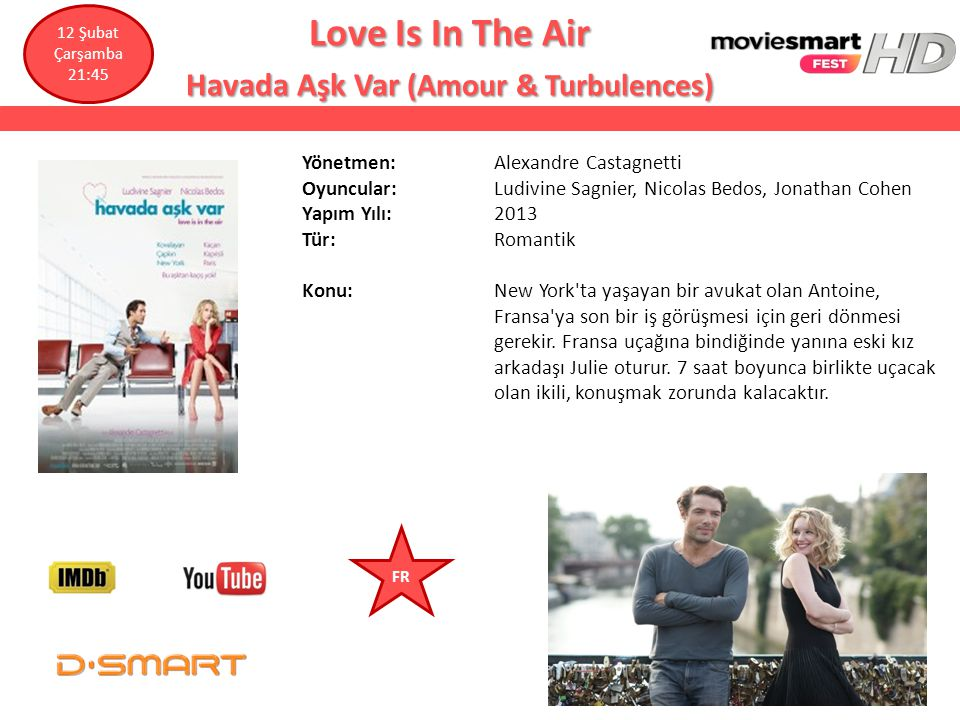 Love Is In The Air Havada Aşk Var (Amour & Turbulences)