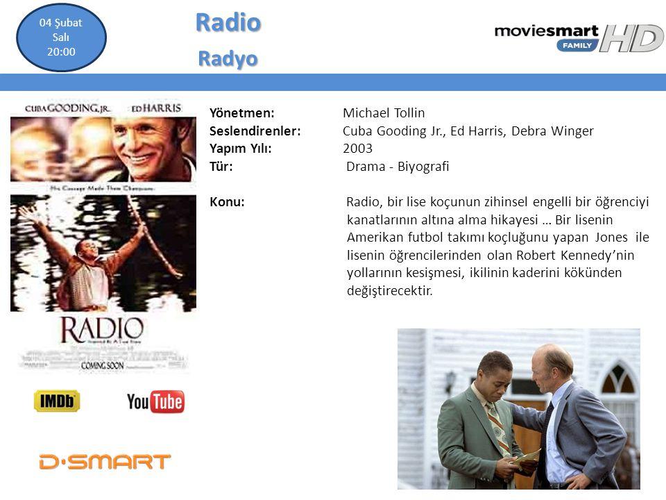 Radio Radyo Yönetmen: Michael Tollin