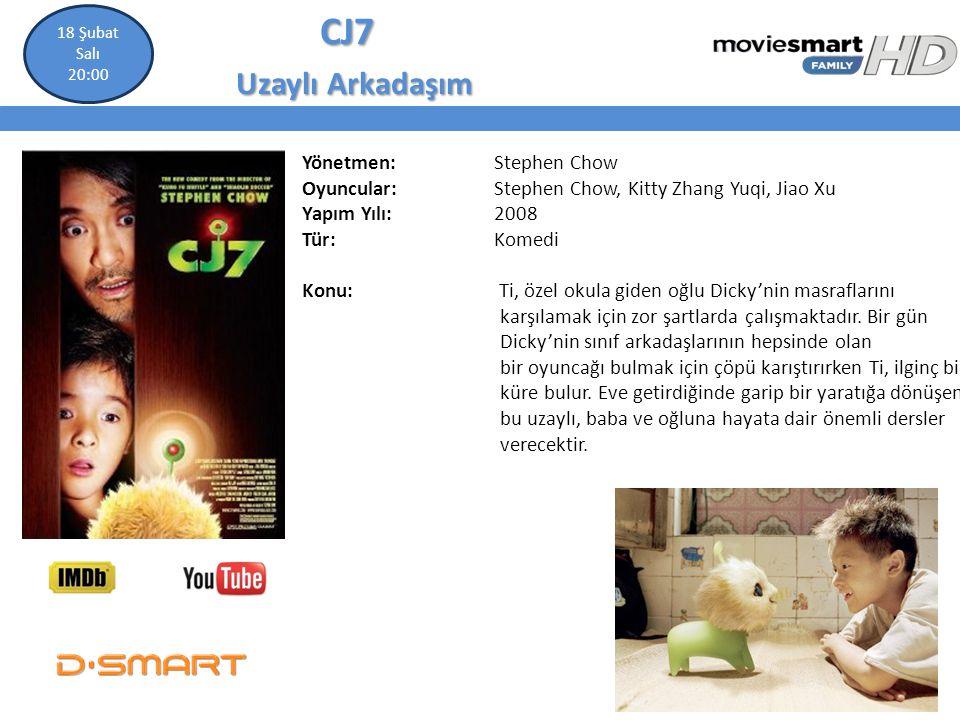 CJ7 Uzaylı Arkadaşım Yönetmen: Stephen Chow