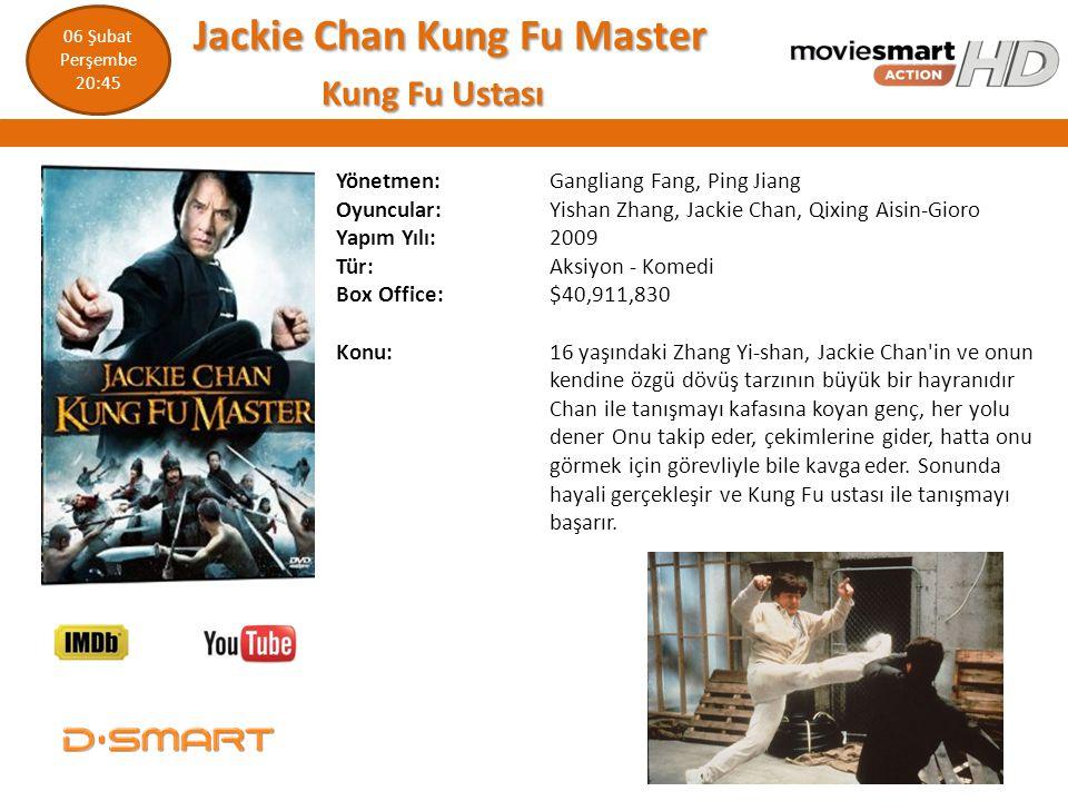 Jackie Chan Kung Fu Master Kung Fu Ustası
