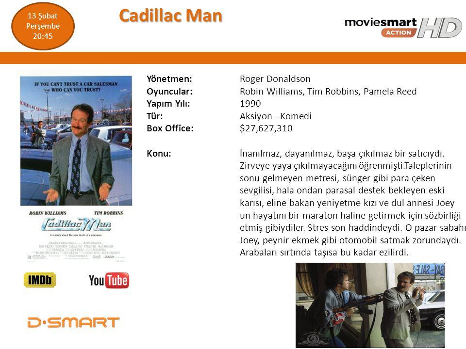 Cadillac Man Yönetmen: Roger Donaldson