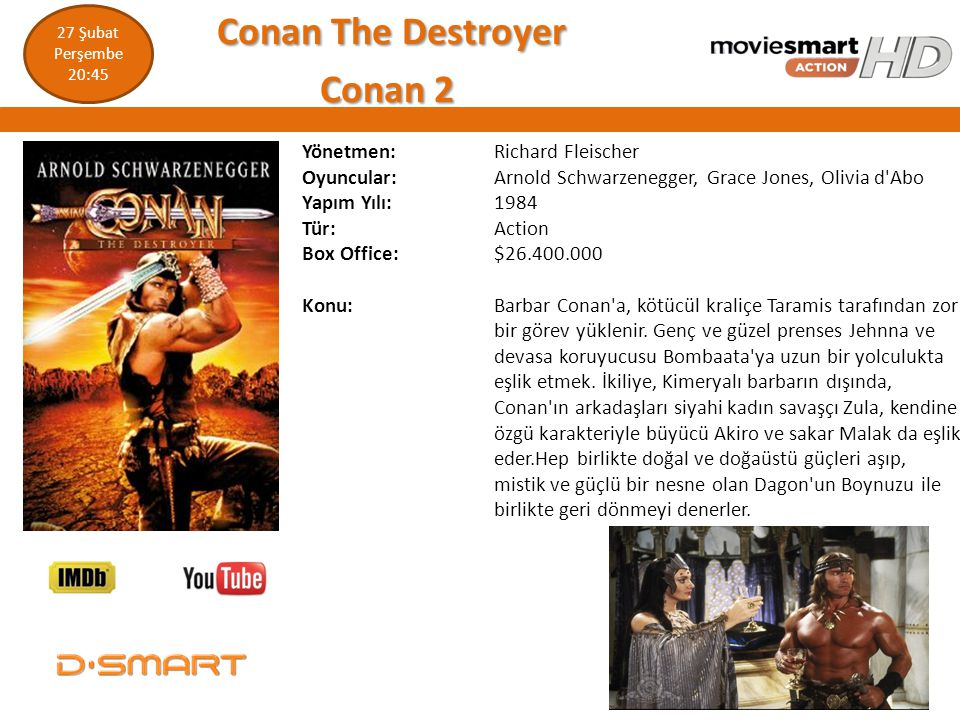 Conan The Destroyer Conan 2
