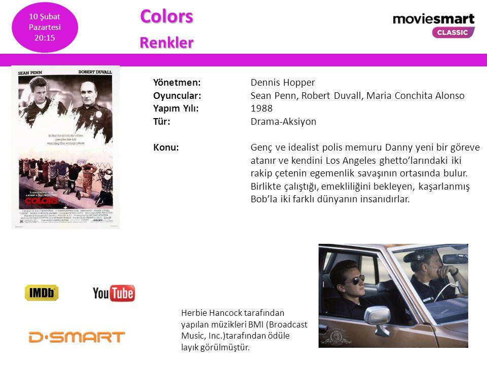 Colors Renkler Yönetmen: Dennis Hopper