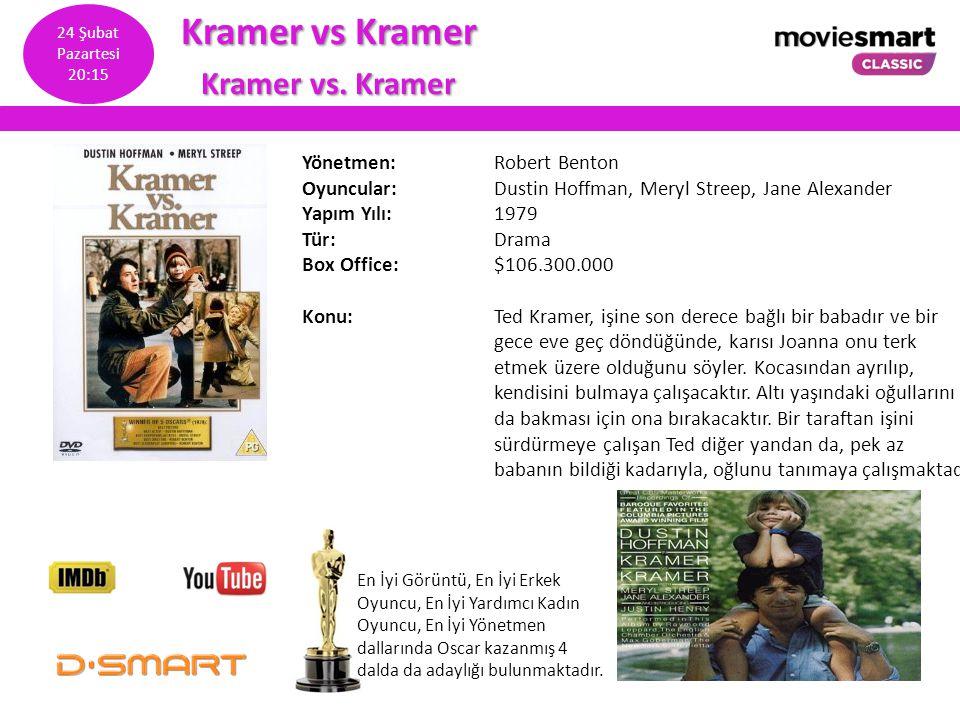Kramer vs Kramer Kramer vs. Kramer