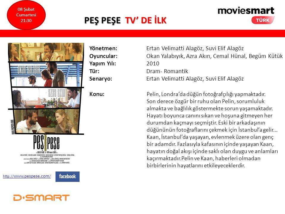 PEŞ PEŞE TV' DE İLK Yönetmen: Ertan Velimatti Alagöz, Suvi Elif Alagöz