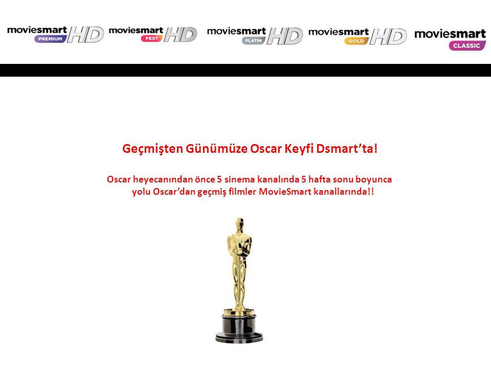 Geçmişten Günümüze Oscar Keyfi Dsmart'ta!
