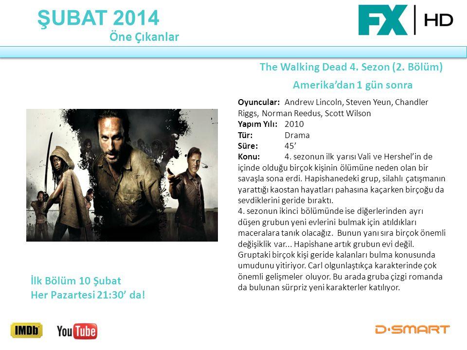The Walking Dead 4. Sezon (2. Bölüm) Amerika'dan 1 gün sonra
