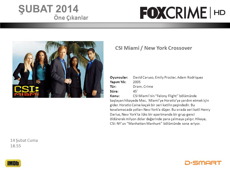 CSI Miami / New York Crossover