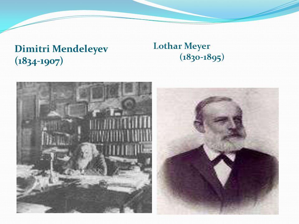 Dimitri Mendeleyev (1834-1907)