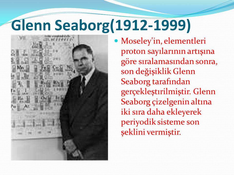 Glenn Seaborg(1912-1999)