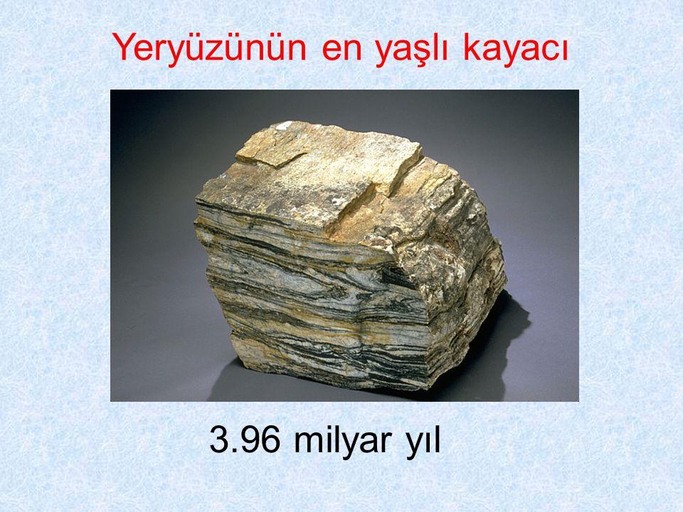 Yeryüzünün en yaşlı kayacı