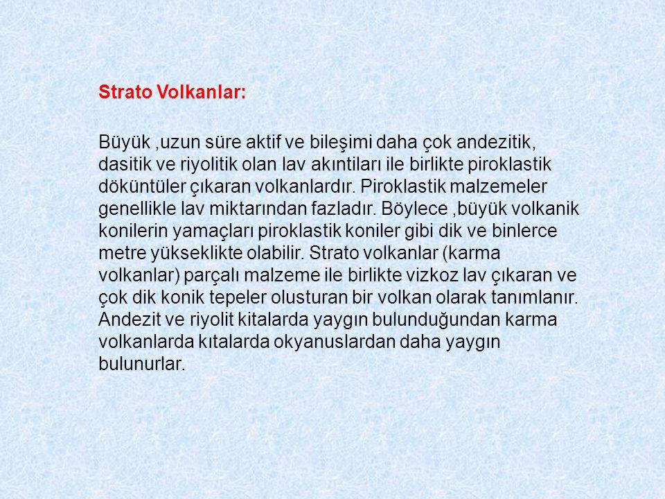 Strato Volkanlar: