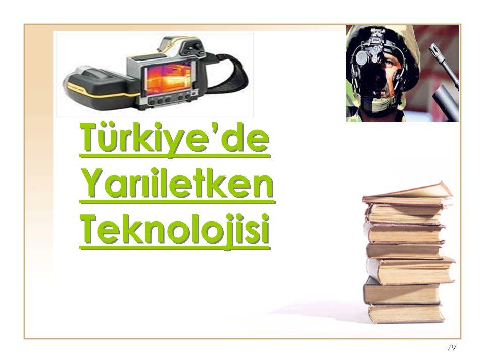 Türkiye'de Yarıiletken Teknolojisi