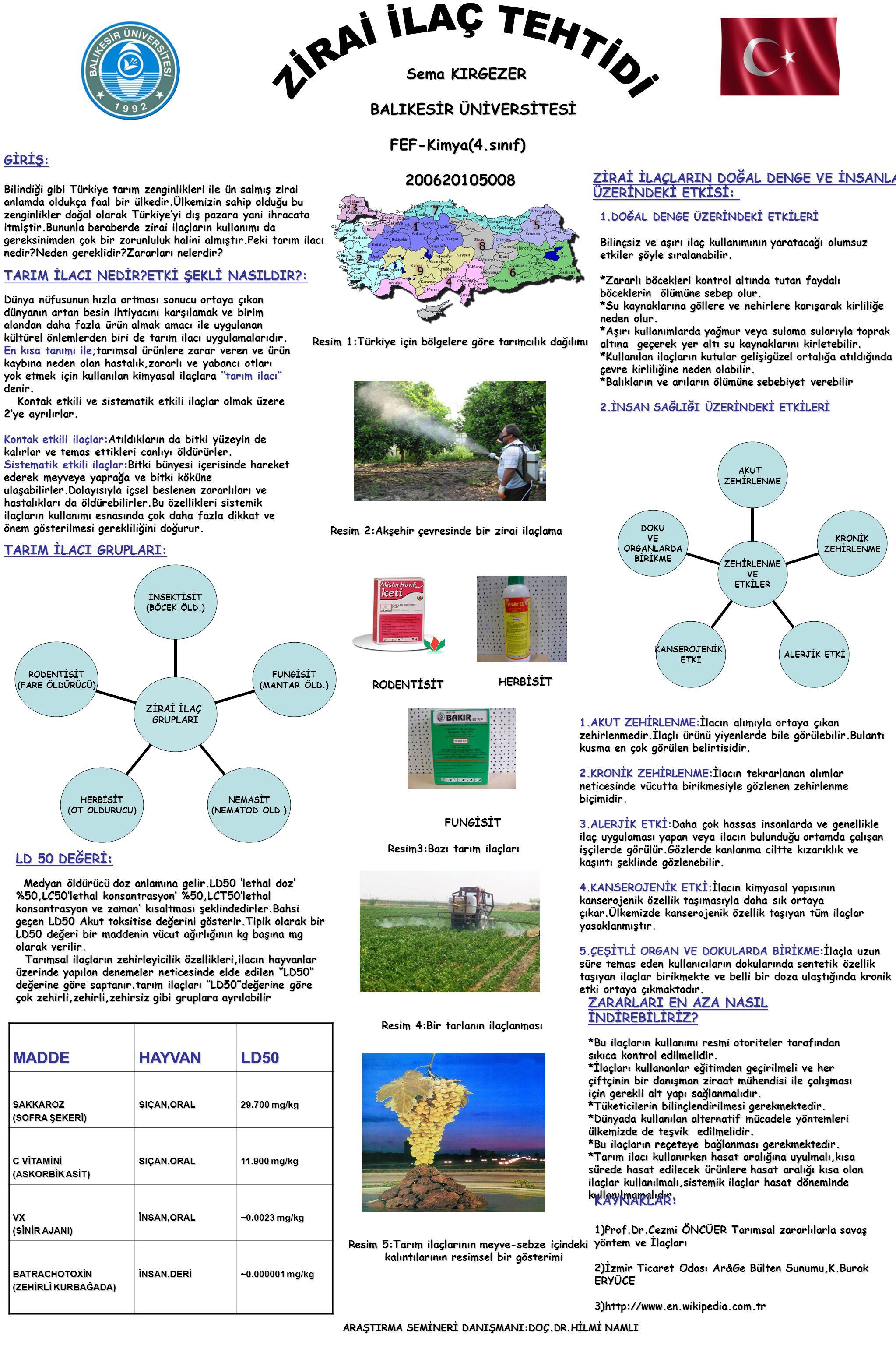 Sema KIRGEZER BALIKESİR ÜNİVERSİTESİ FEF-Kimya(4.sınıf) 200620105008