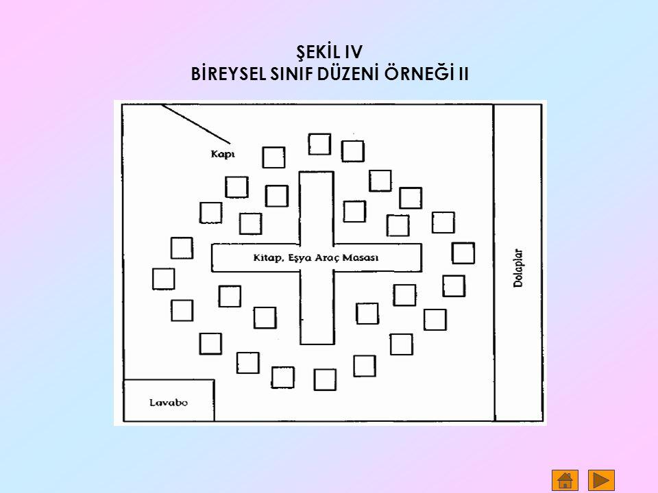 BİREYSEL SINIF DÜZENİ ÖRNEĞİ II