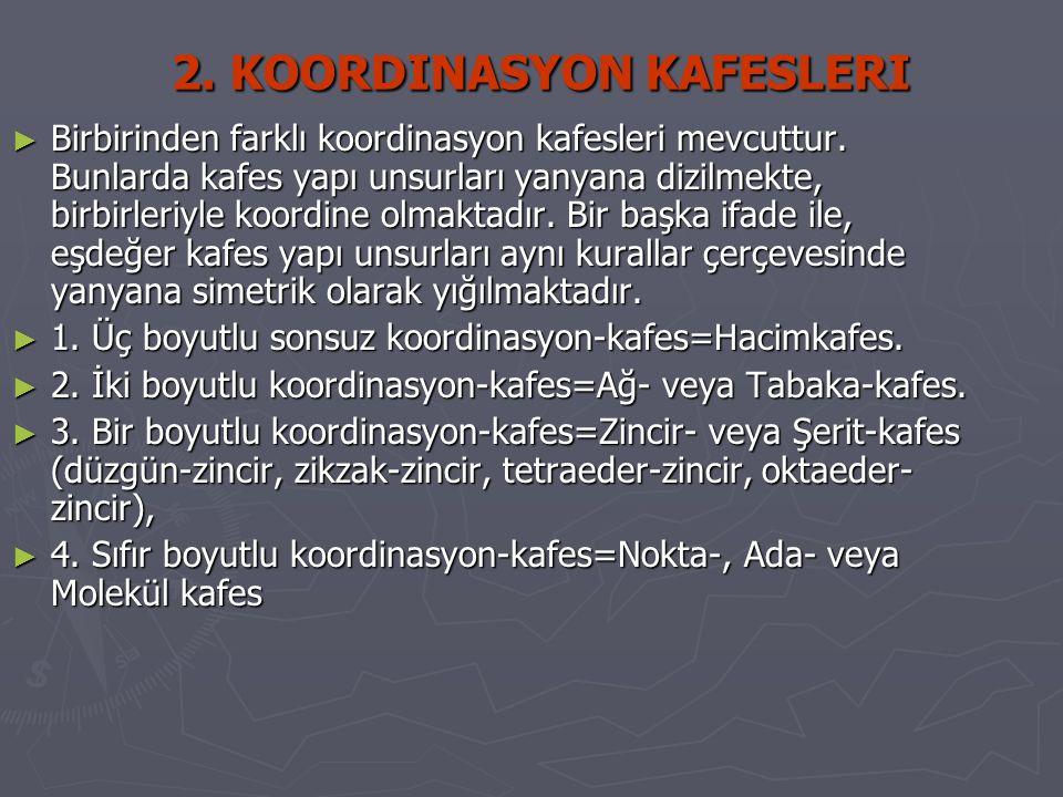 2. KOORDINASYON KAFESLERI