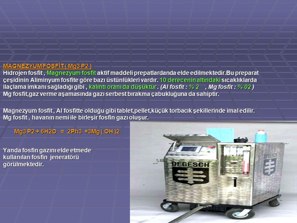MAGNEZYUM FOSFİT ( Mg3 P2 )