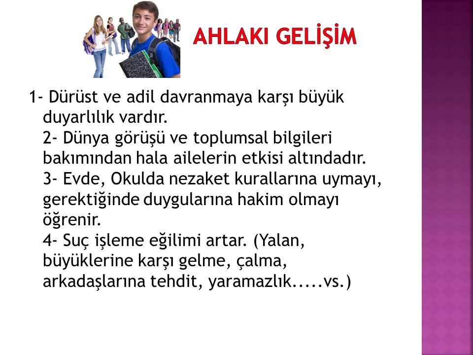 AHLAKI GELİŞİM
