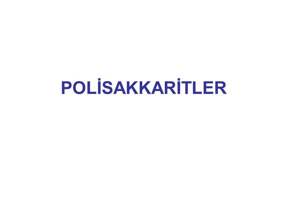 POLİSAKKARİTLER