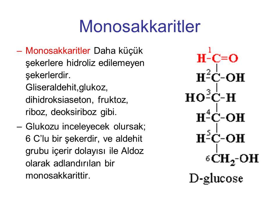 Monosakkaritler