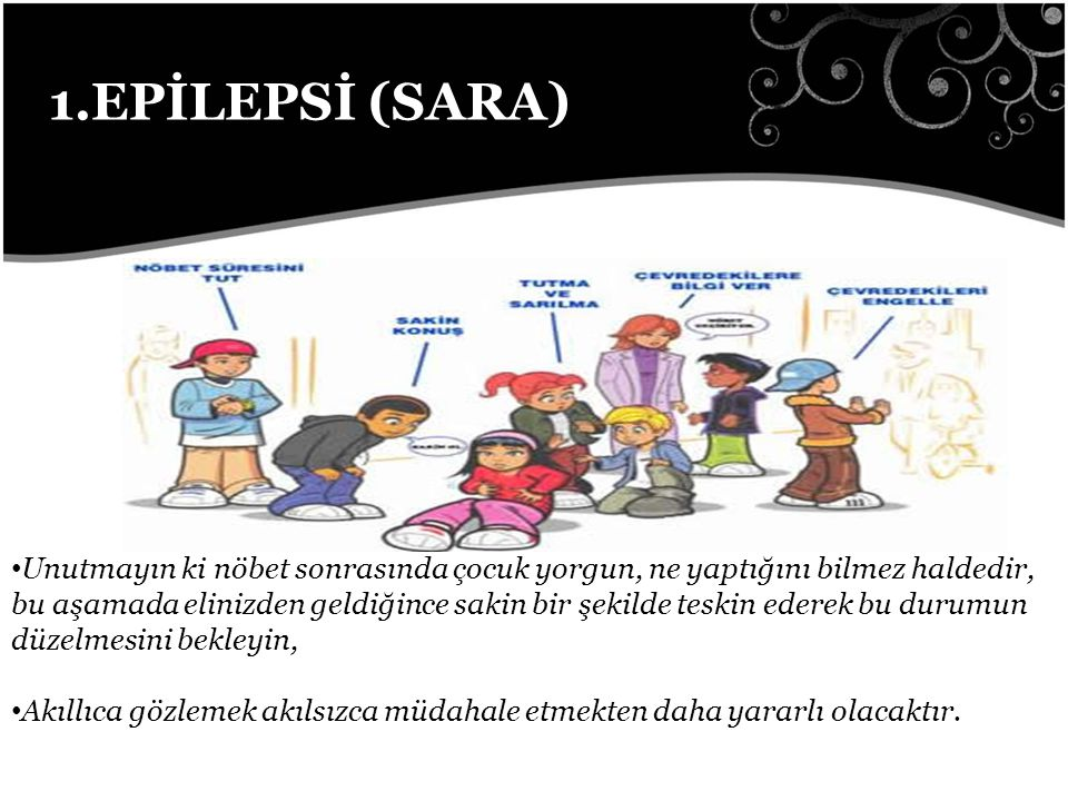 1.EPİLEPSİ (SARA)
