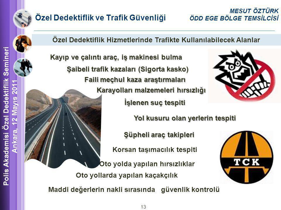 Özel Dedektiflik ve Trafik Güvenliği