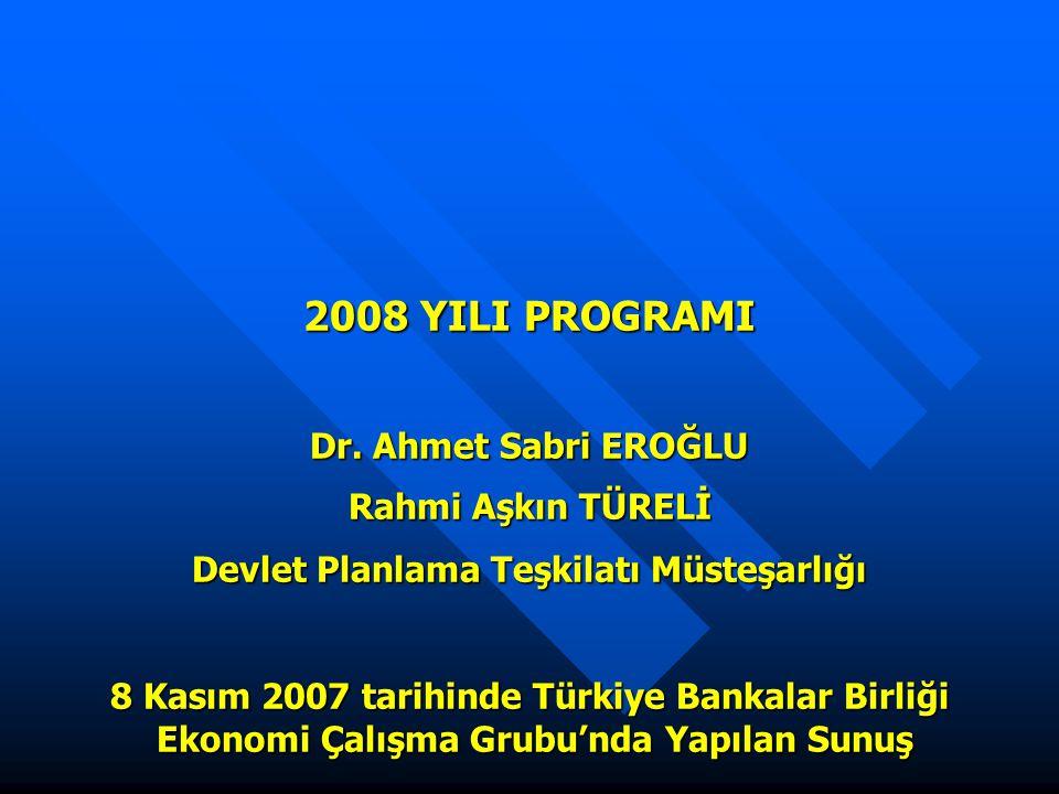 2008 YILI PROGRAMI Dr.