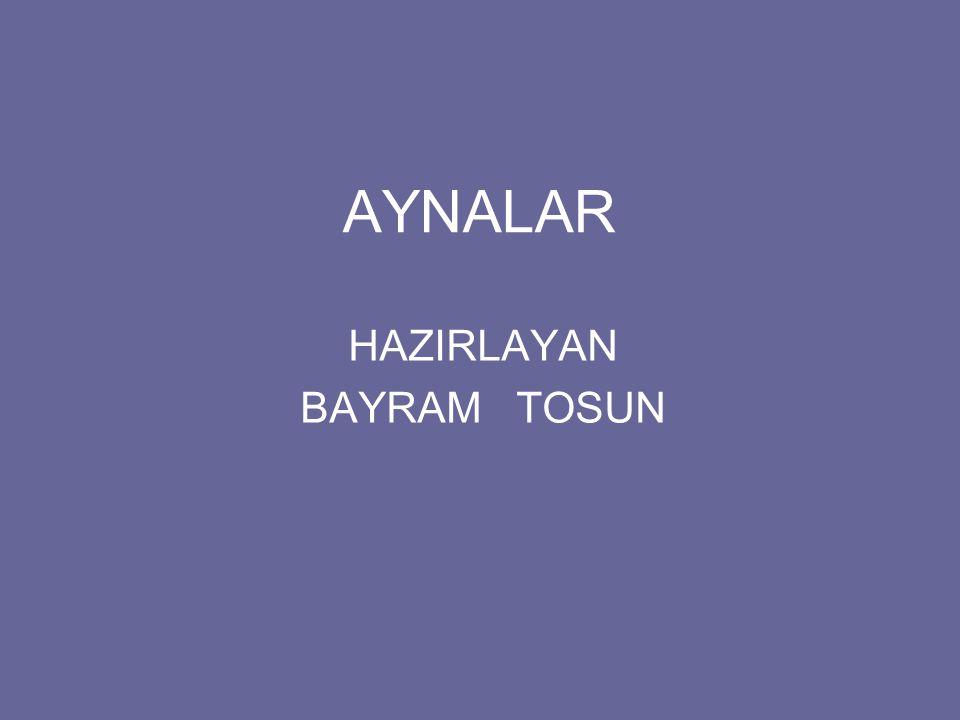 HAZIRLAYAN BAYRAM TOSUN