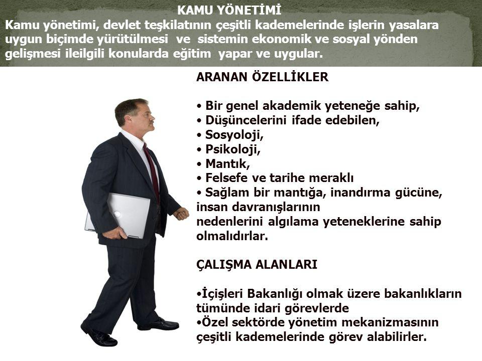 KAMU YÖNETİMİ Kamu yönetimi, devlet teşkilatının çeşitli kademelerinde işlerin yasalara.