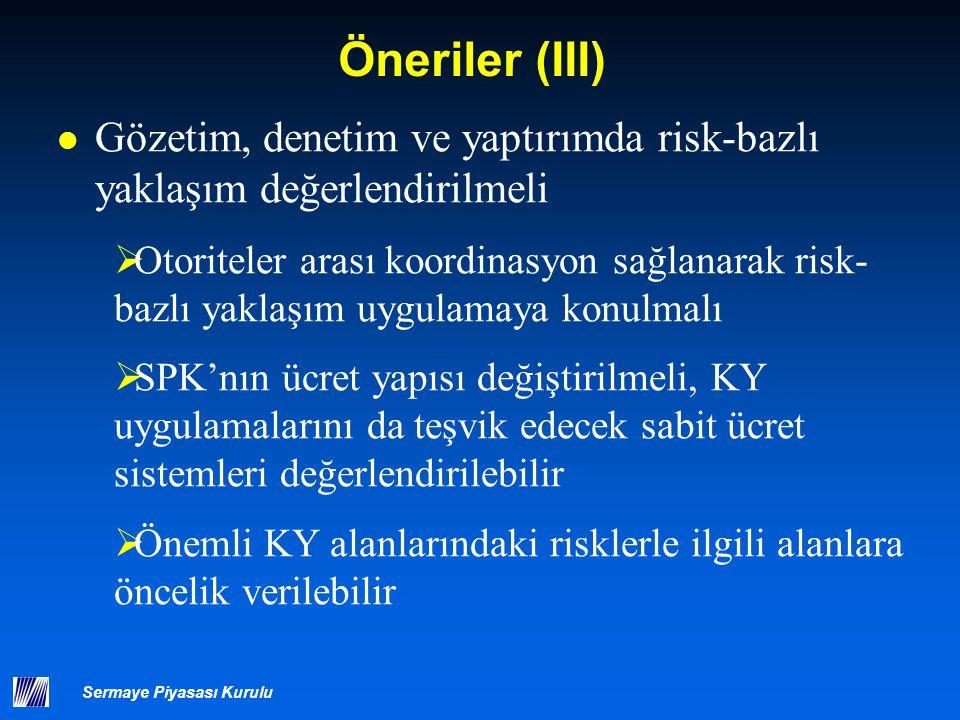 Öneriler (IV) Hukuki Çözüm Yolları, Yaptırım Mekanizmaları ve Yargı Prosedürleri geliştirilmelidir.