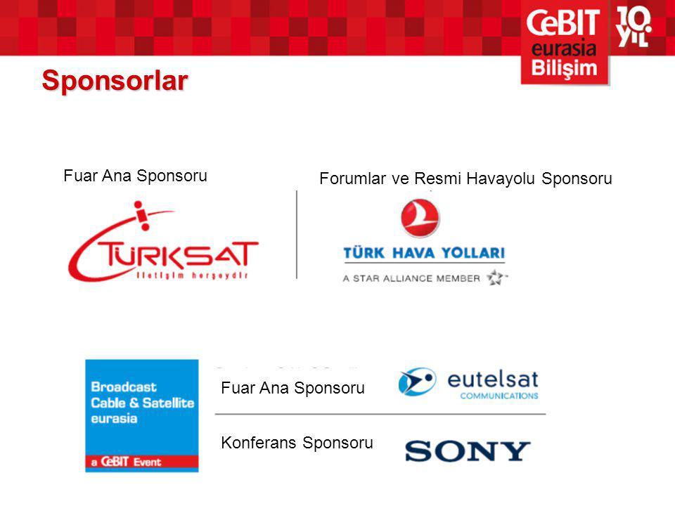 Sponsorlar Fuar Ana Sponsoru Forumlar ve Resmi Havayolu Sponsoru