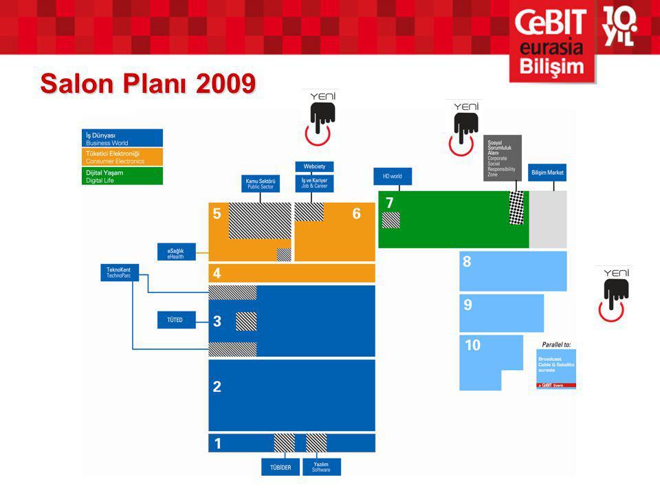 Salon Planı 2009