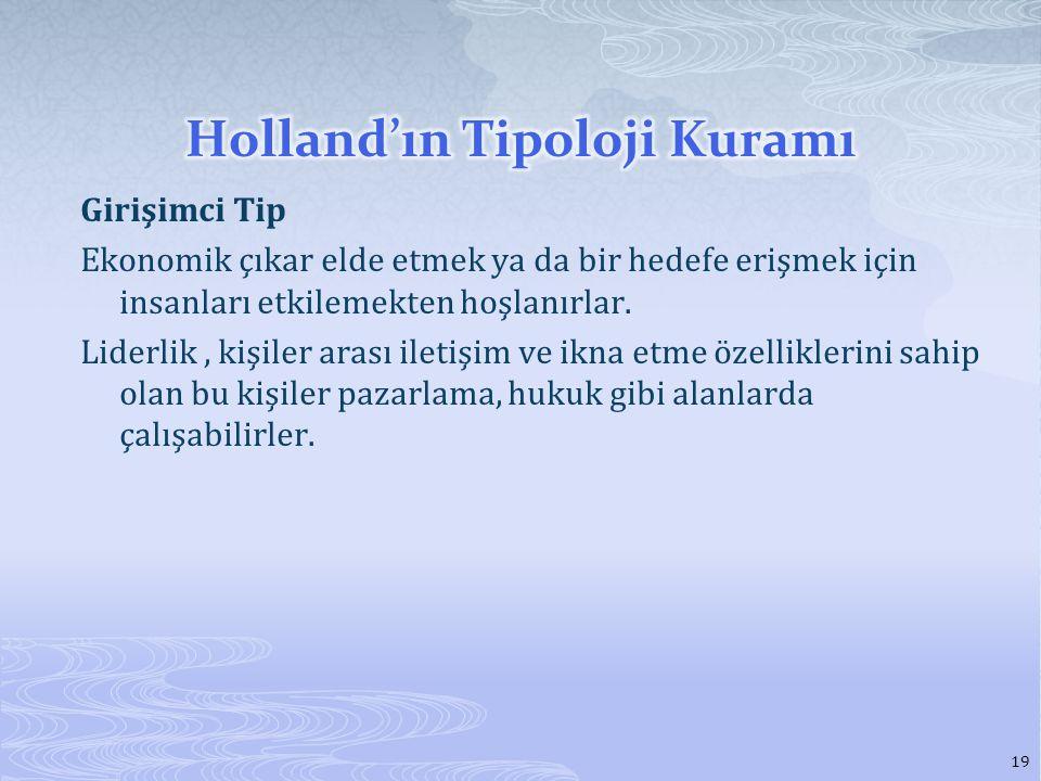Holland'ın Tipoloji Kuramı