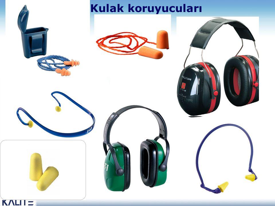 Kulak koruyucuları Yüksek renkli kulak tıkacı, inspection'ı kolaylaştırır