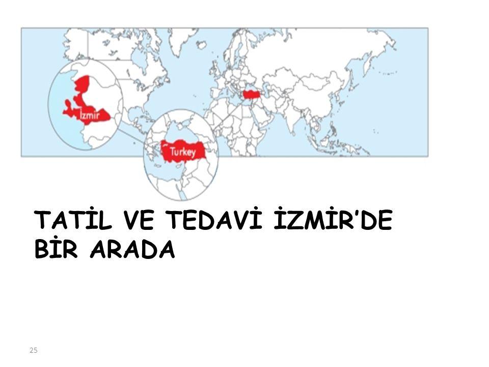 TATİL VE TEDAVİ İZMİR'DE BİR ARADA