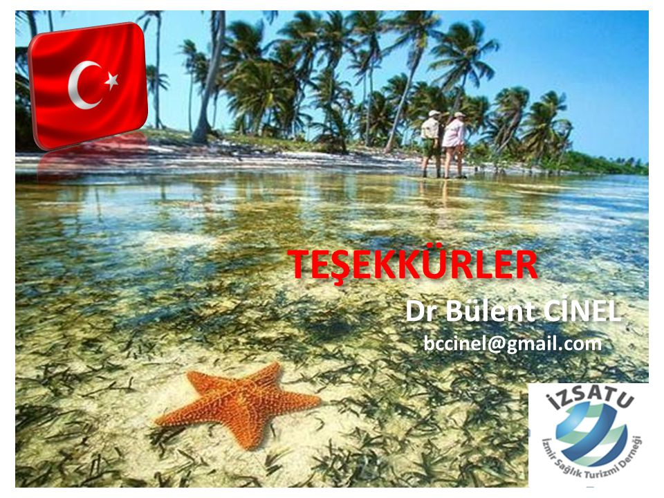 TEŞEKKÜRLER Dr Bülent CİNEL bccinel@gmail.com