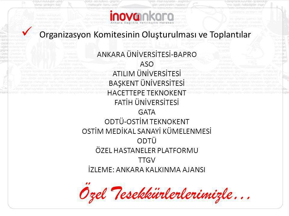 Organizasyon Komitesinin Oluşturulması ve Toplantılar